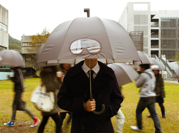 Umbrella with Goggles
