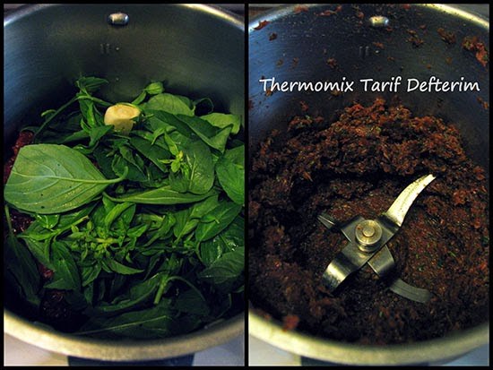 Sun Dried Tomato Pate recipe with Thermomix