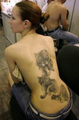 Dicas de Tatuagens Femininas de Tigre