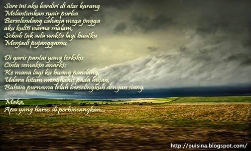 Syair Purba Mega Jingga by Sky Shucaya