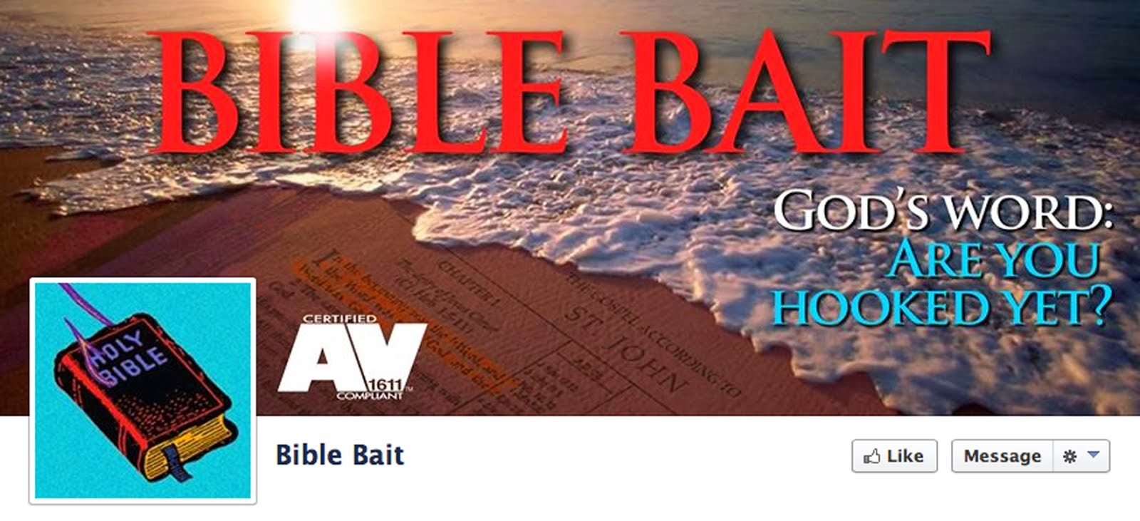 NEW! Bible Bait Facebook Page