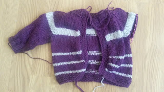 Mrs U Makes...Fuss Free Baby Cardigan
