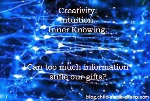 Can Too Much Information Stifle Our Gifts?