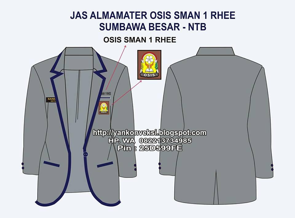 JAS ALAMAMATER OSIS SMA 1 RHREE  SUMBAWA BESAR