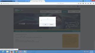 Cross site scripting Vulnerability in Eset
