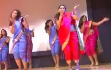 Marathi lavni Dance performance