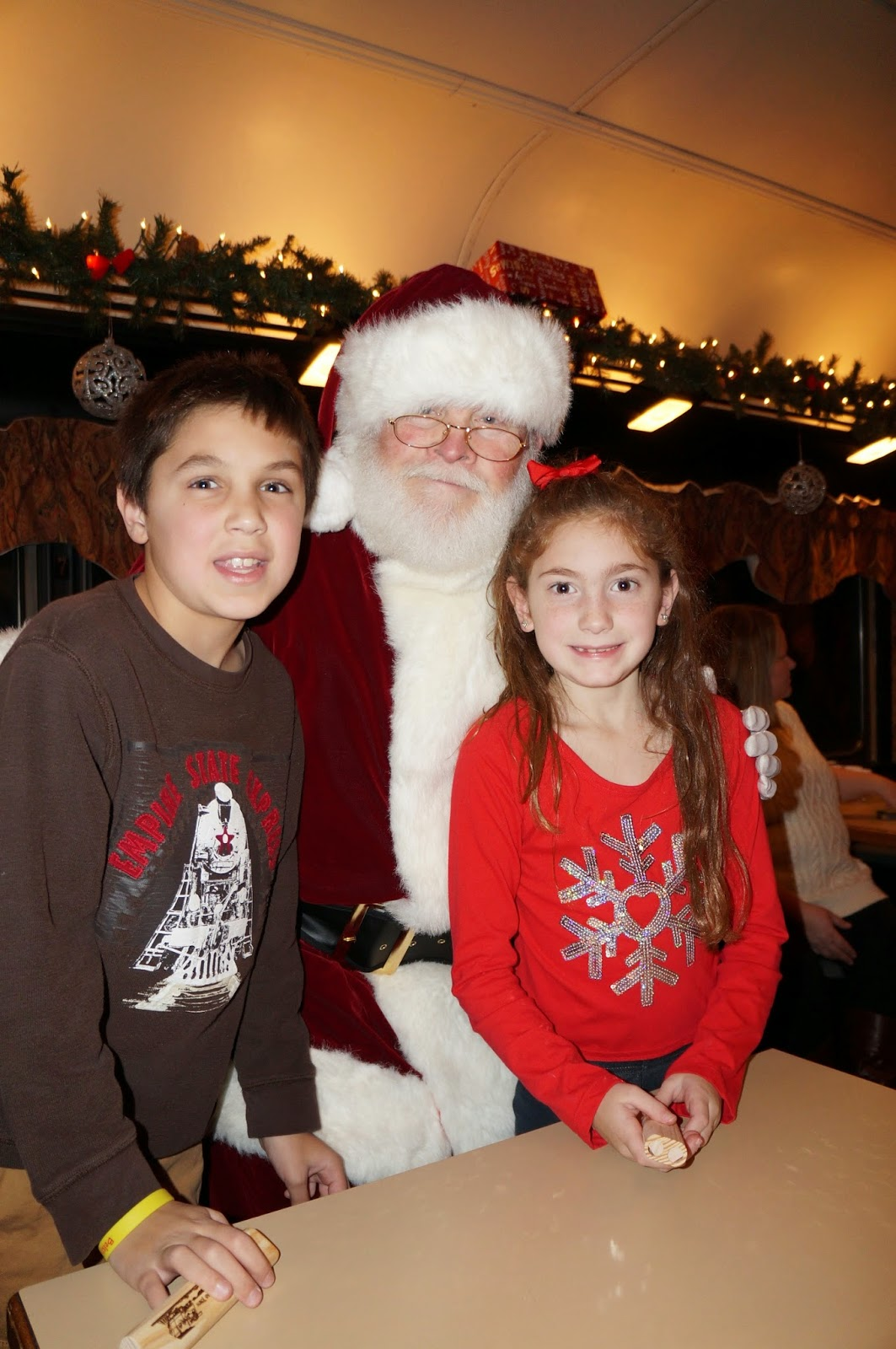 evan and laurens cool blog 112614 train to christmas town on the cape cod central railroad - Train To Christmas Town