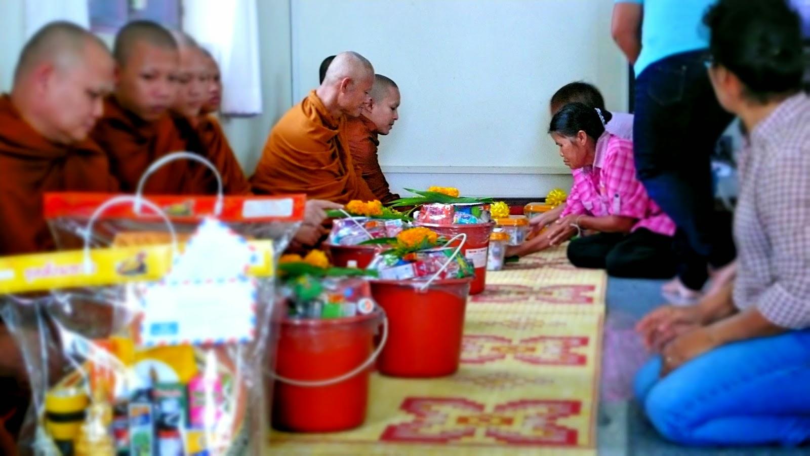 Mönche Thailand