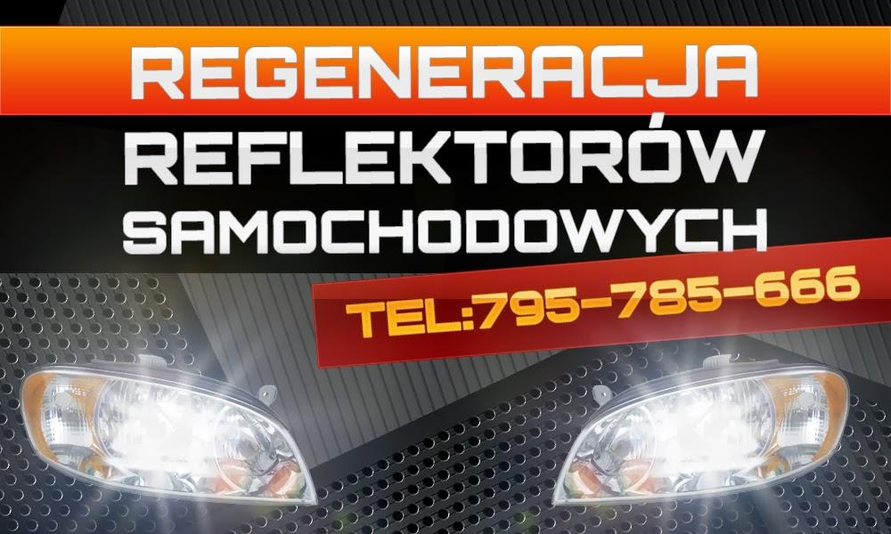 regeneracja reflektorów - Poznań