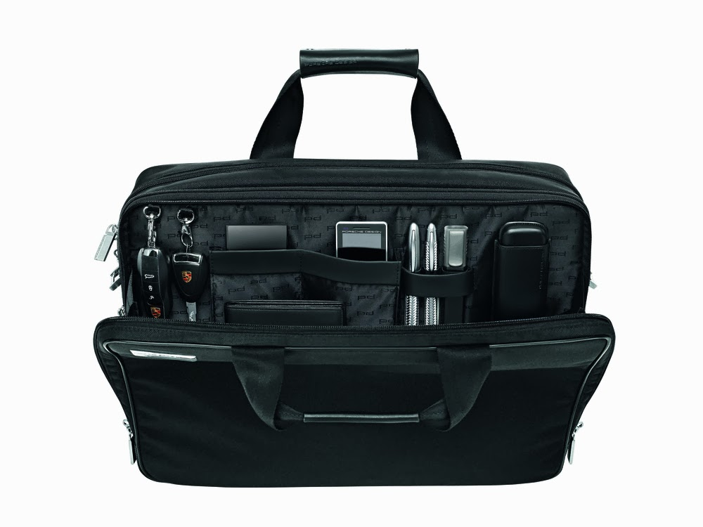 Business P 2000 Luggage From Porsche Design Modernistic