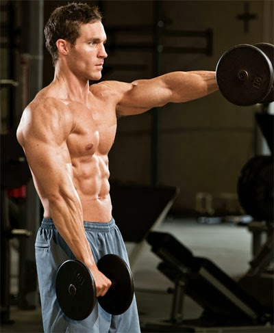 Basic exercises to build muscles of the shoulders ...