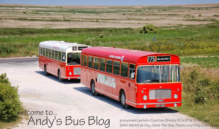 Andy's Bus Blog