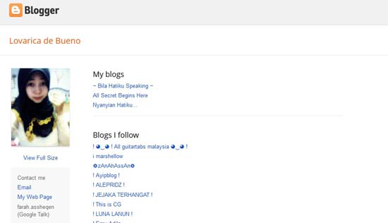 Blogger Baru Pilihan 2013