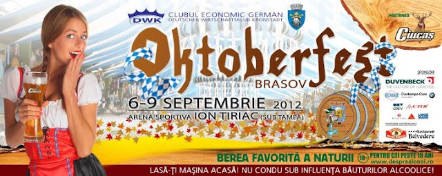 Oktoberfest Brasov, 2012, 6-9 septembrie