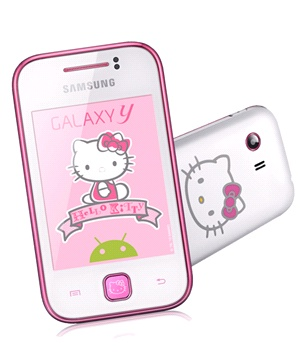 Samsung Galaxy Y (S5360) Hello Kitty