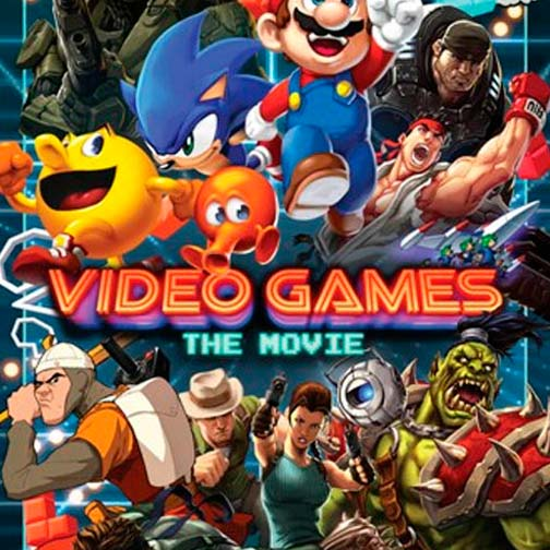 Poster de la película Video games: The Movie (2014)