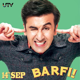 Ranbir Kapoor's 'Barfi' release date poster and wallpaper