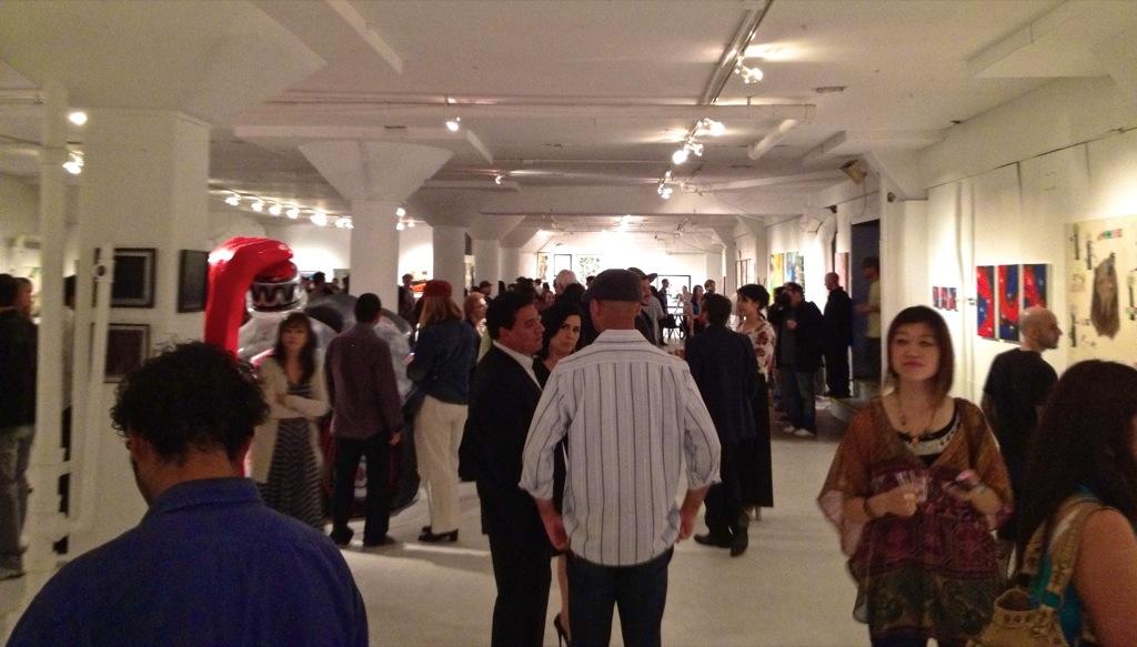 Quot La Freewalls Inside Quot Los Angeles Group Show Opening