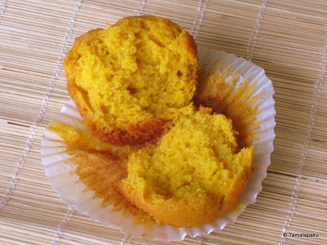 Vegan Mango Cupcake