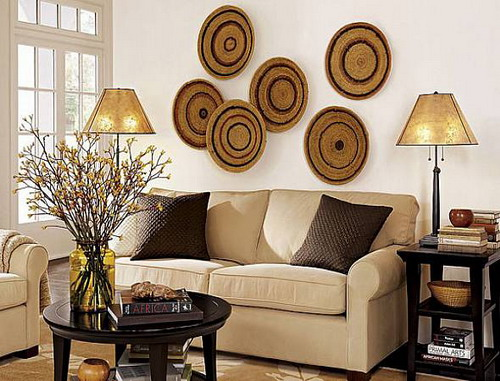 warmth to your home with wall decorating ideas home design gallery