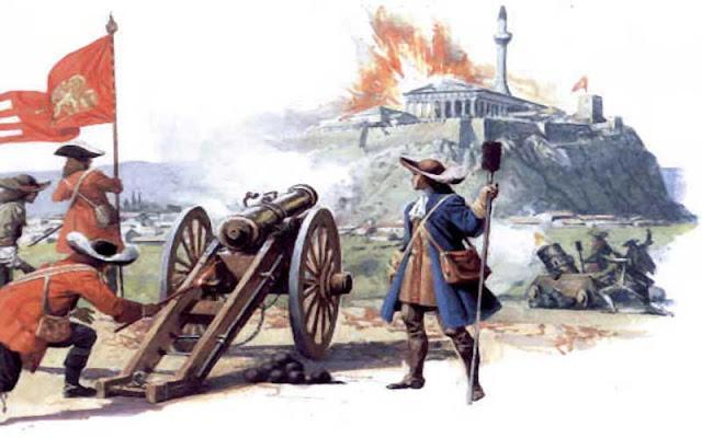 Σαν σήμερα 26 Σεπτεμβρίου 1687 ο Φρ. Μοροζίνι καταστρέφει τον Παρθενώνα