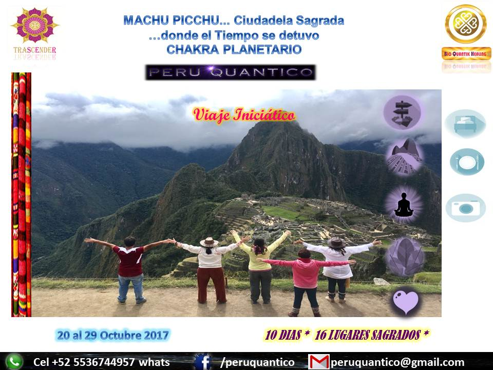 VIAJE PERU QUANTICO OCT 2017
