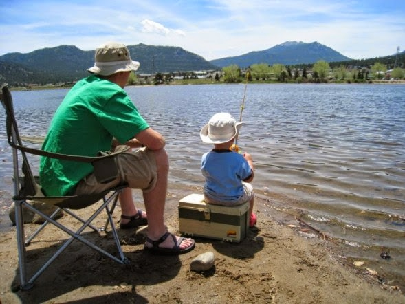 Mom among chaos 2014 summer kickoff for Father son fishing