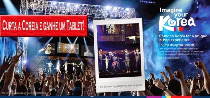 Curta a Coréia e concorra a um tablet!