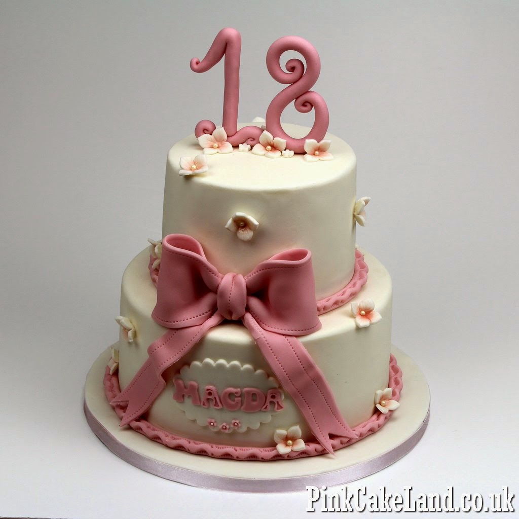 18th bithday cake