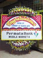 bunga papan selamat sukses congratulation tangerang