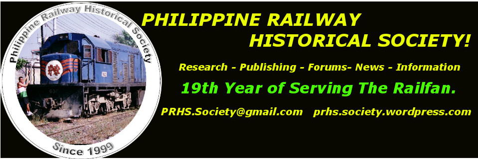 Philippine Railway Historical Society   News and History!
