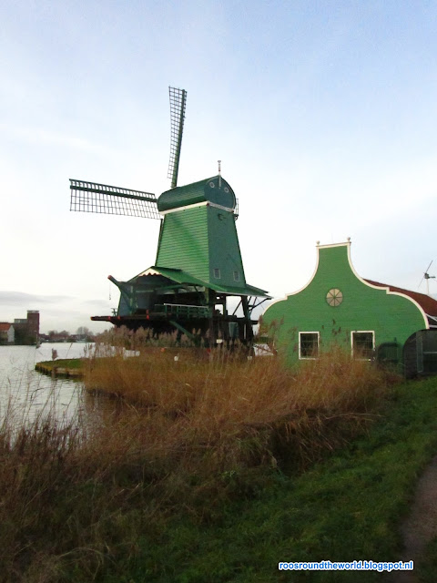 Windmolen, Zaanse schans, holland, the netherlands