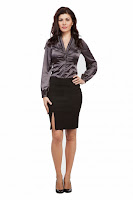 Fusta negra Aelya Business Lady