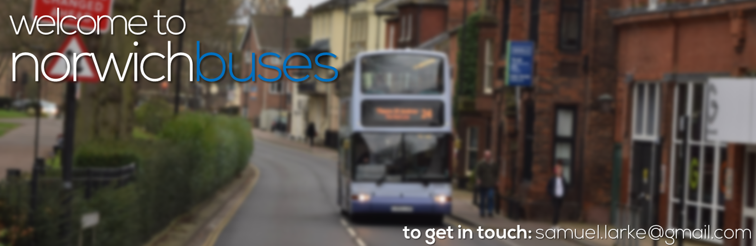 Welcome to Norwich Buses Blog