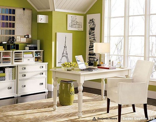 2012 Home office desk design