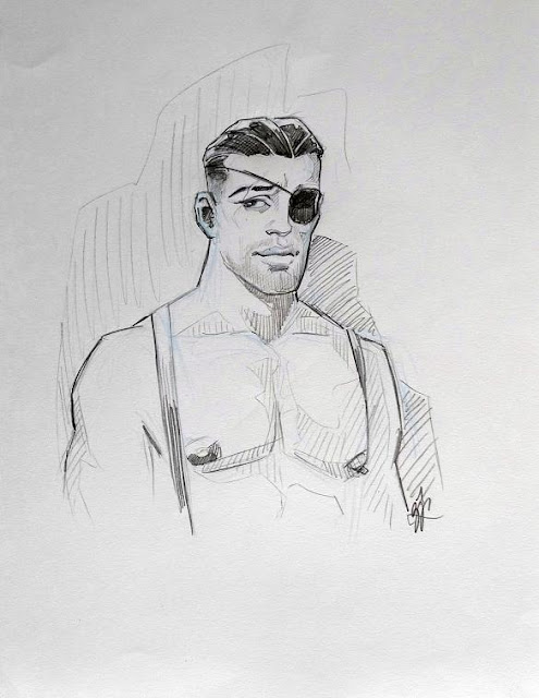 MALE DRAWING ART BLOG : BENOIT PREVOT DRAWING PENCILS ON PAPER