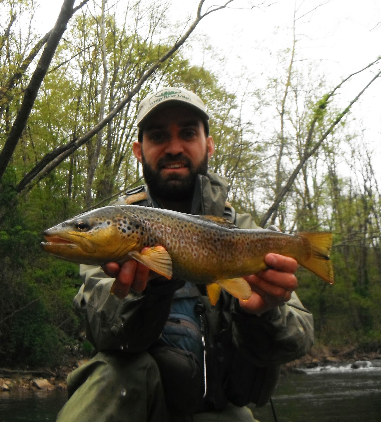 Western maryland fly fishing savage river 04 30 2013 for River trout fishing