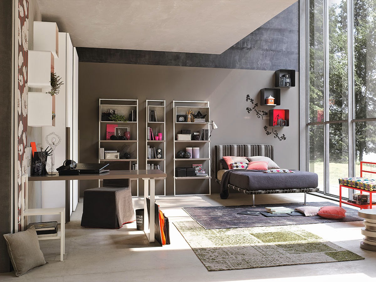 Hometrotter home style blog casa arredamento design - Come dividere una camera da letto in due ...
