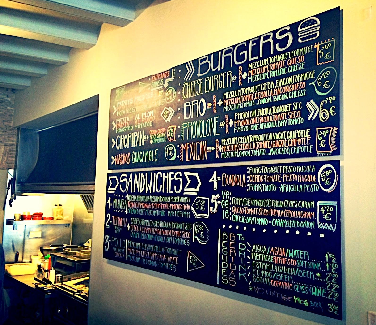 BRO Barcelona Grilled&Bread