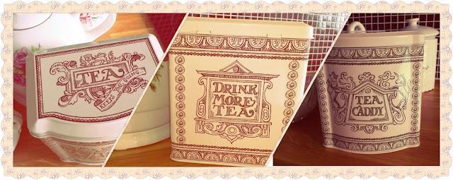 Emma Bridgewater tea jar