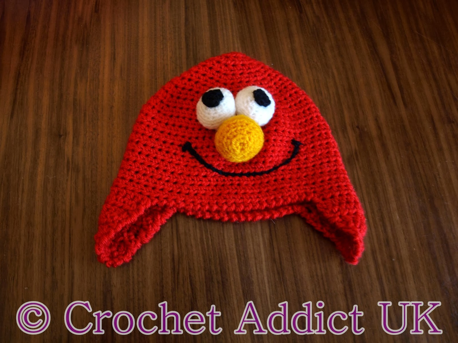 Free elmo hat pattern crochet addict uk bankloansurffo Gallery