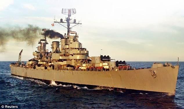 Crucero ARA General Belgrano - Argentina
