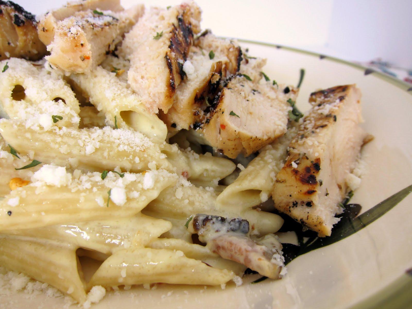 Pasta recipes chicken carbonara
