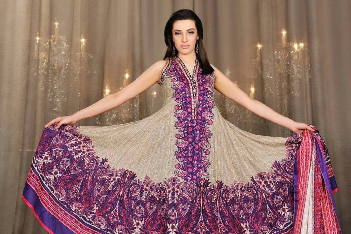 Umar Sayeed Summer Lawn collection 2012 by Al-Karam Textiles