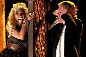 Nicki+Minaj+Illuminati+Member+Mocking+God+At+Grammys MEMBERS OF THE ILLUMINATI   LIST OF MEMBERS OF ILLUMINATI