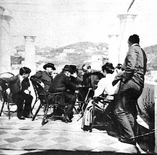 Partida de ajedrez de Lenin con Gorki (1908) - publicado por el blog Revolución Cultural 006