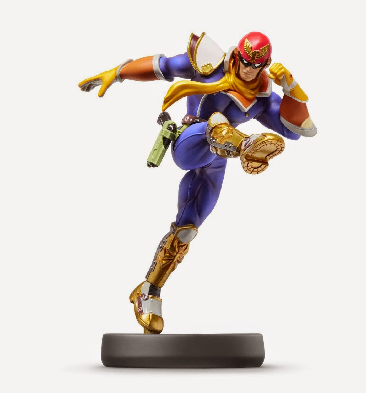 JUGUETES - NINTENDO Amiibo - 18 : Figura Captain Falcon | F-Zero   (19 diciembre 2014) | Videojuegos | Muñeco | Super Smash Bros Collection  Plataforma: Wii U & Nintendo 3DS