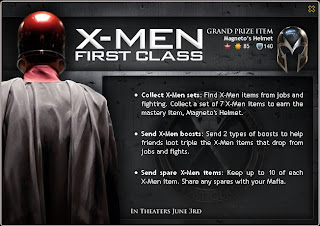 X-Men First Class at Mafia Wars