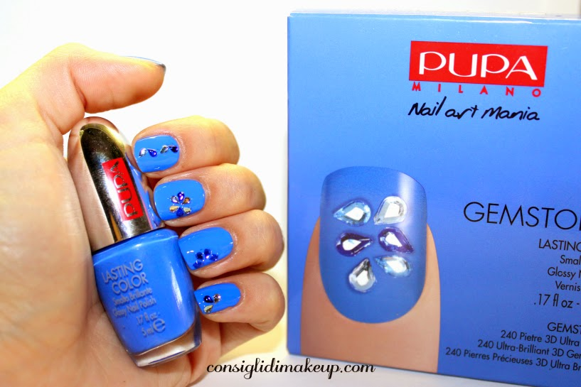 pupa nail art mania gemstones