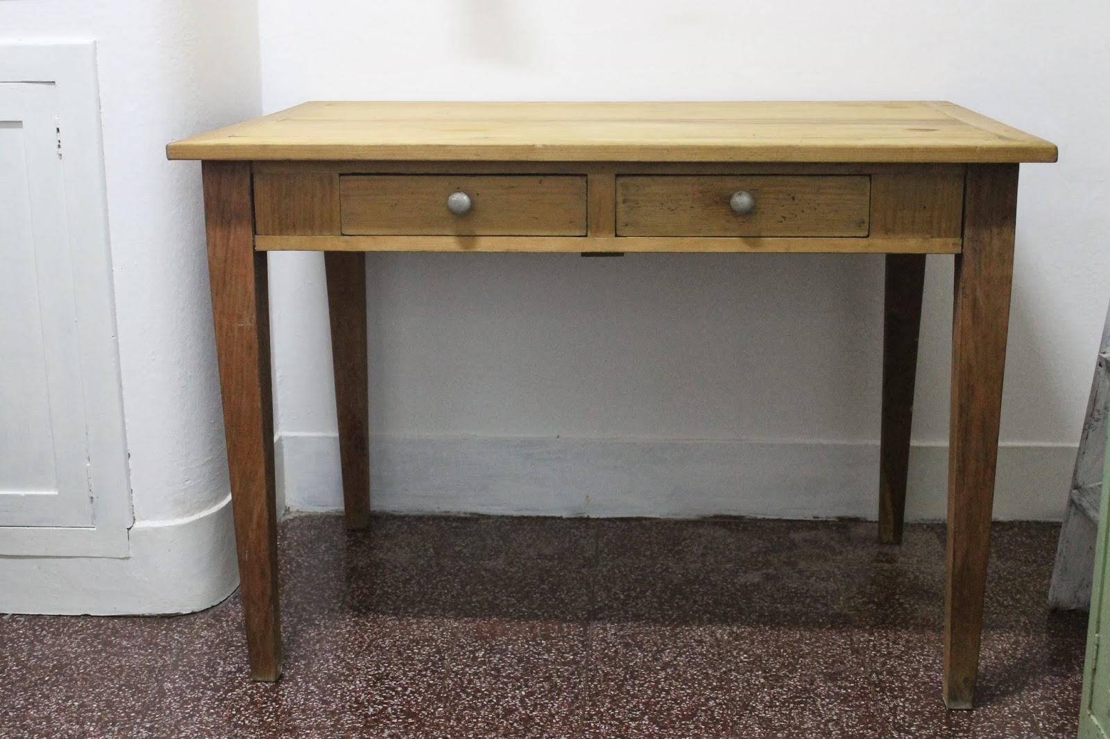 Mesa de campo escritorio deco marce tienda - Mesas de escritorio antiguas ...
